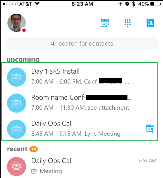 UC Administration Blog : Upcoming meeting NOT sync on Skype