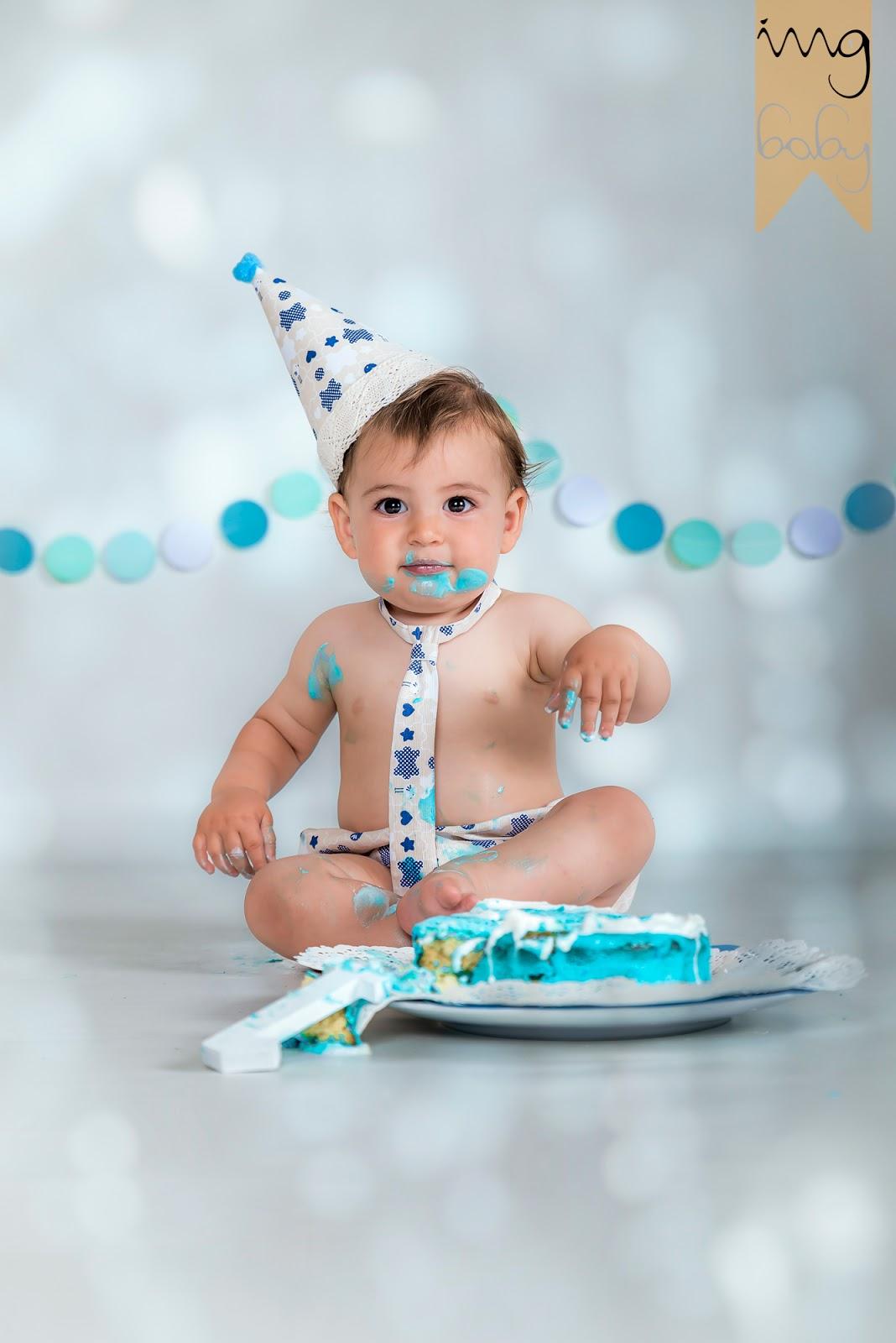 Sesión fotográfica de primer cumpleaños