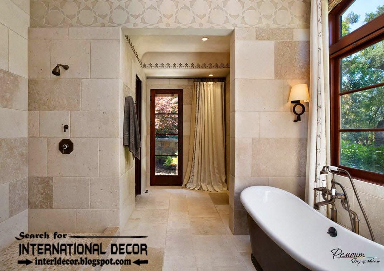 Latest beautiful bathroom tile designs ideas 2017 on Bathroom Tile Design Ideas  id=73468