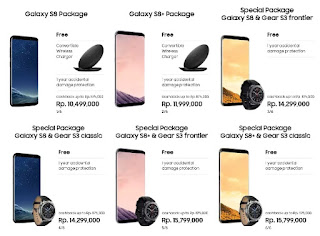 Galaxy S8 dan S8 Plus Promo Pre-Order Bonus Wireless Charger dan Cashback