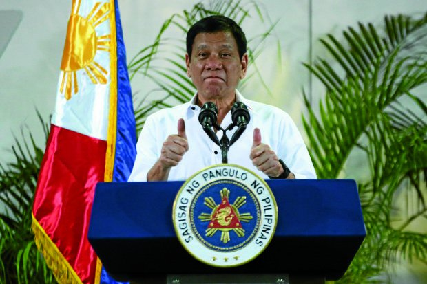 "Duterte administration gets ""very good"" rating on its first year"
