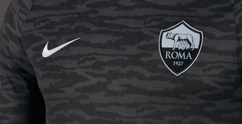 quality design 9969f 9e5f7 AS Roma 15-16 Champions League Training Shirt Released ...