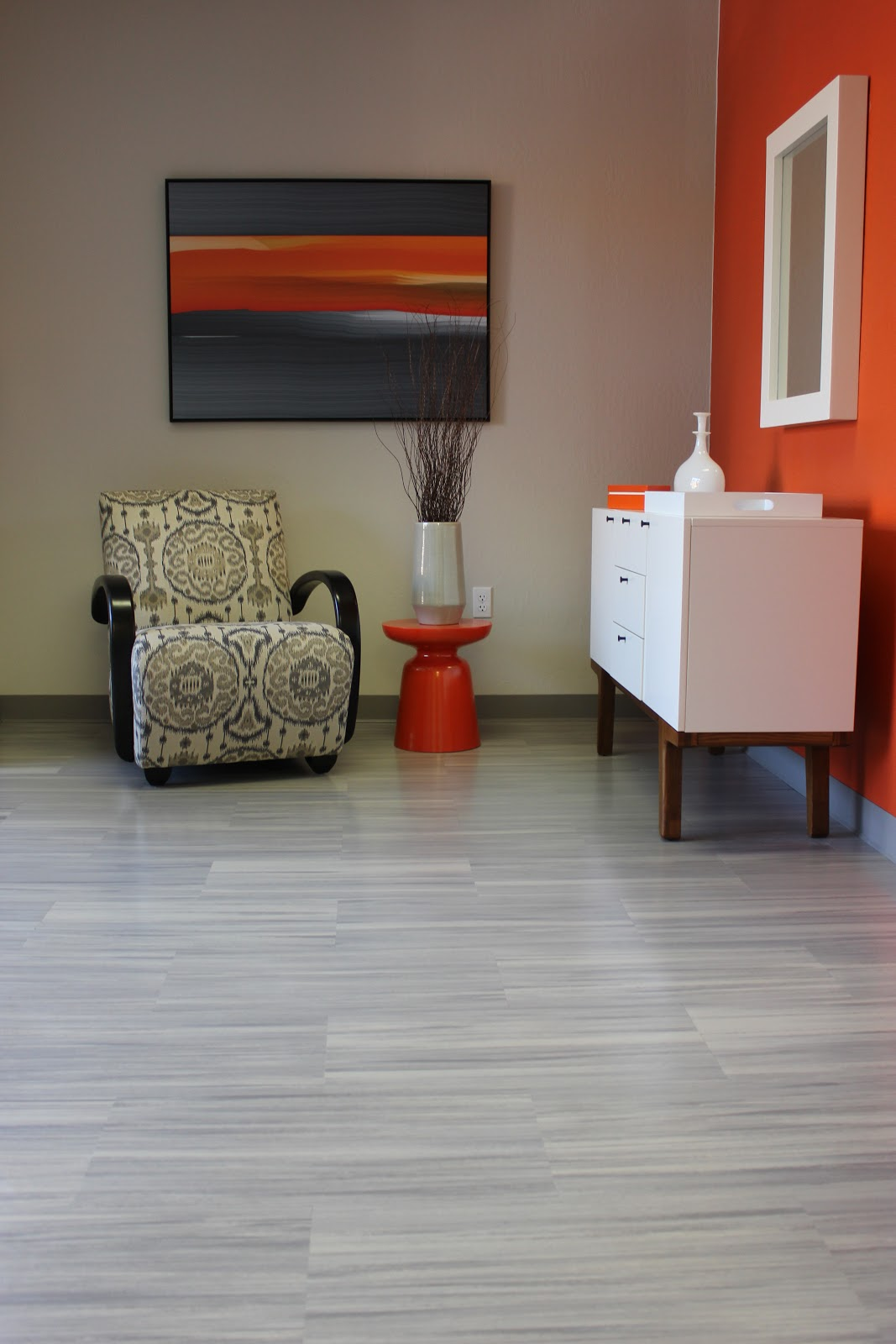 Simas Floor and Design Company Armstrong Striations and Bigelow Carpet Tile