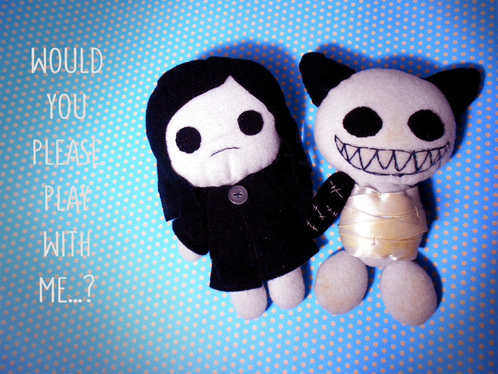 Handmade Plush Creations - Mulan's Doll and Hio