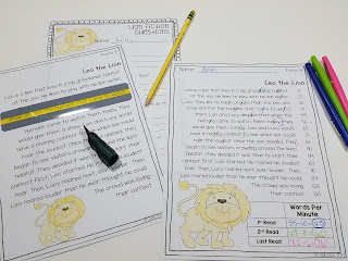 Fluency Tools to make fluency instruction fun- a few fluency materials highlighted to use in a primary classroom