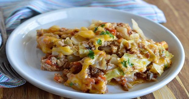 Easy Stuffed Cabbage Casserole Recipe