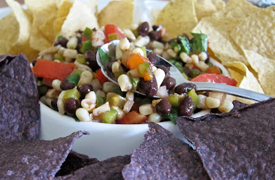 This special homemade salsa is chunky and flavorful, plus its easy to make. No cooking required. One bite of this salsa and you'll be back for more! #WomenLivingWell #salsa #appetizers #easyrecipes