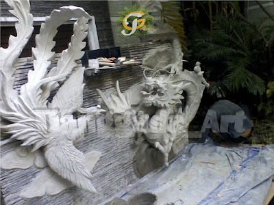 Jasa Pembuatan Ornamen Dinding & Wash Surabaya