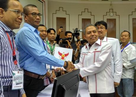 Mendaftar ke KPU, Partai Republik Tegaskan Dukungan ke Jokowi