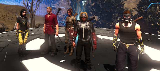 Fireteam Bravo, led by Bret Michaels
