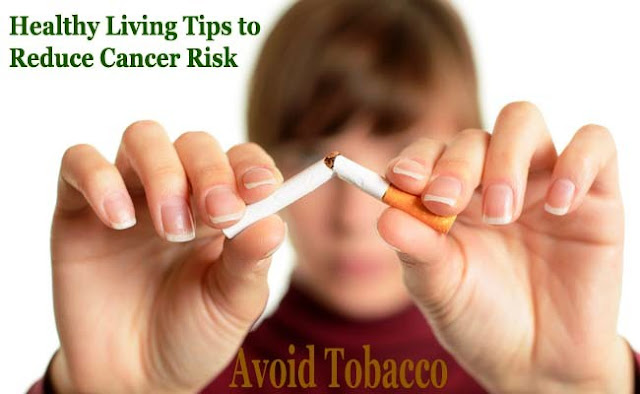 Stop smoking to reduce cancer risk