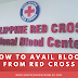 How To Avail Blood From Philippine Red Cross