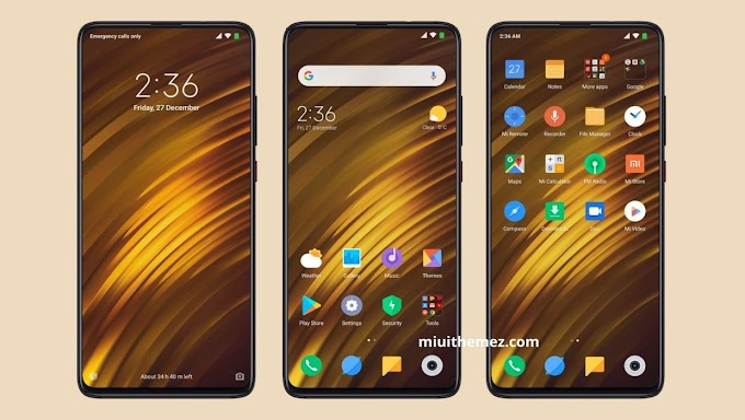 The Best POCO F1 MIUI 11 Theme for POCO Phone Experience
