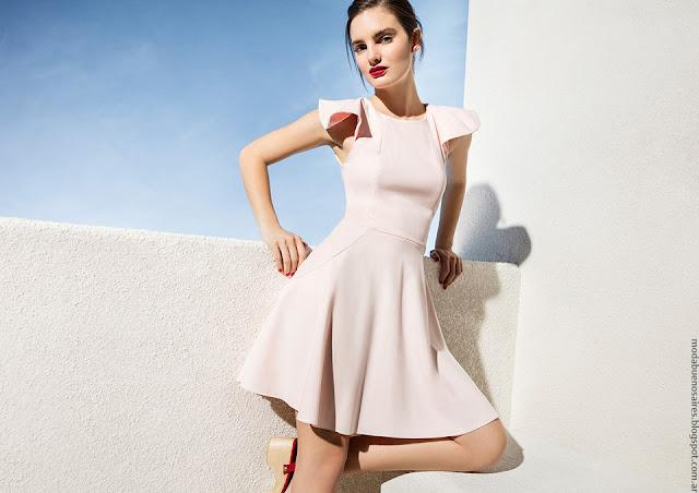 Vestidos primavera verano 2017 moda mujer Las Oreiro.
