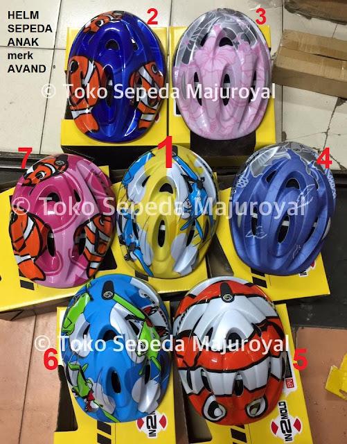 Helm Sepeda Anak merk United