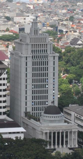 gedung mahkamah konstitusi, gedung mk, mahkamah konstitusi