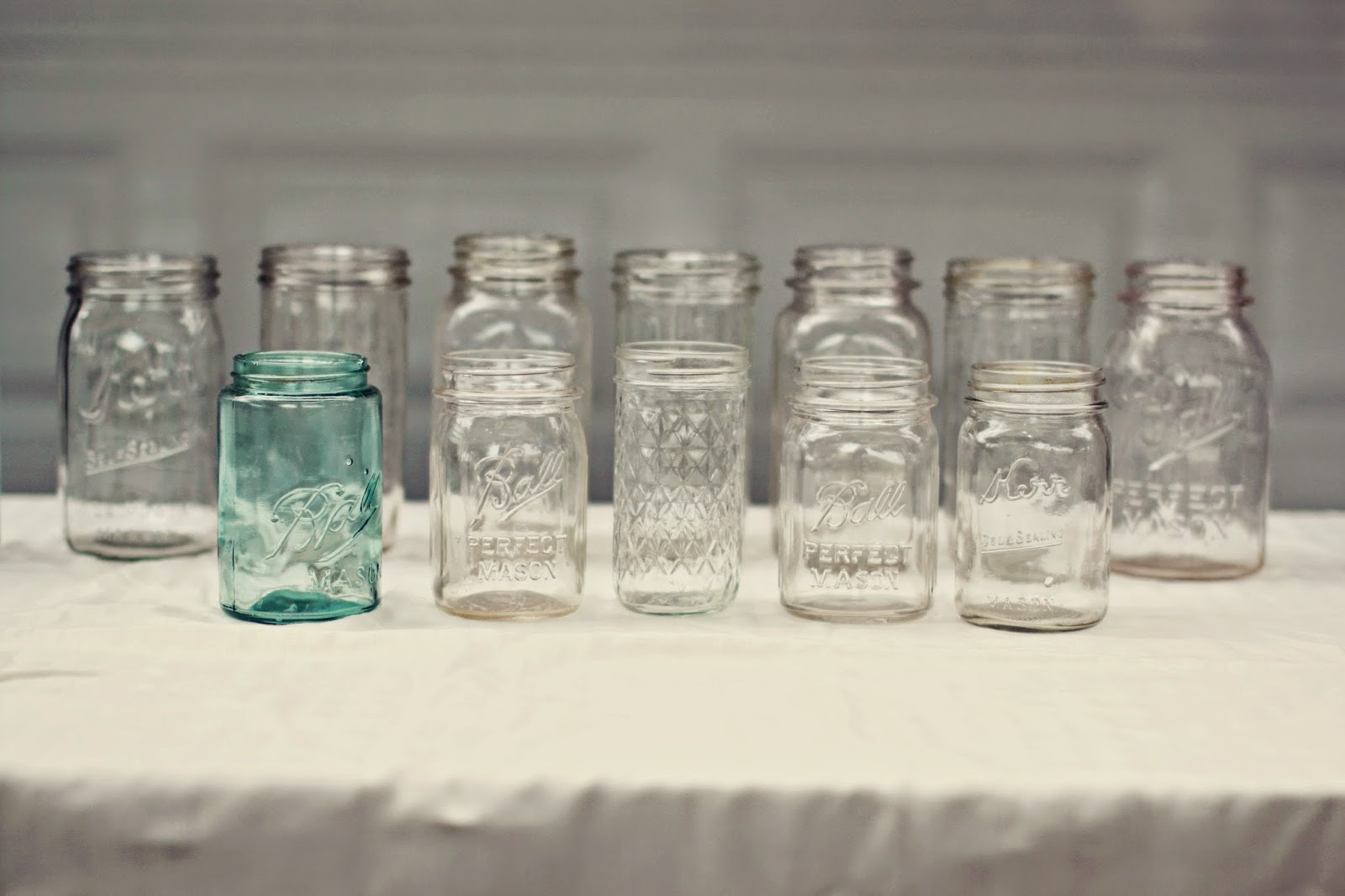 Vintage Mason Canning Jars | Land of Honey