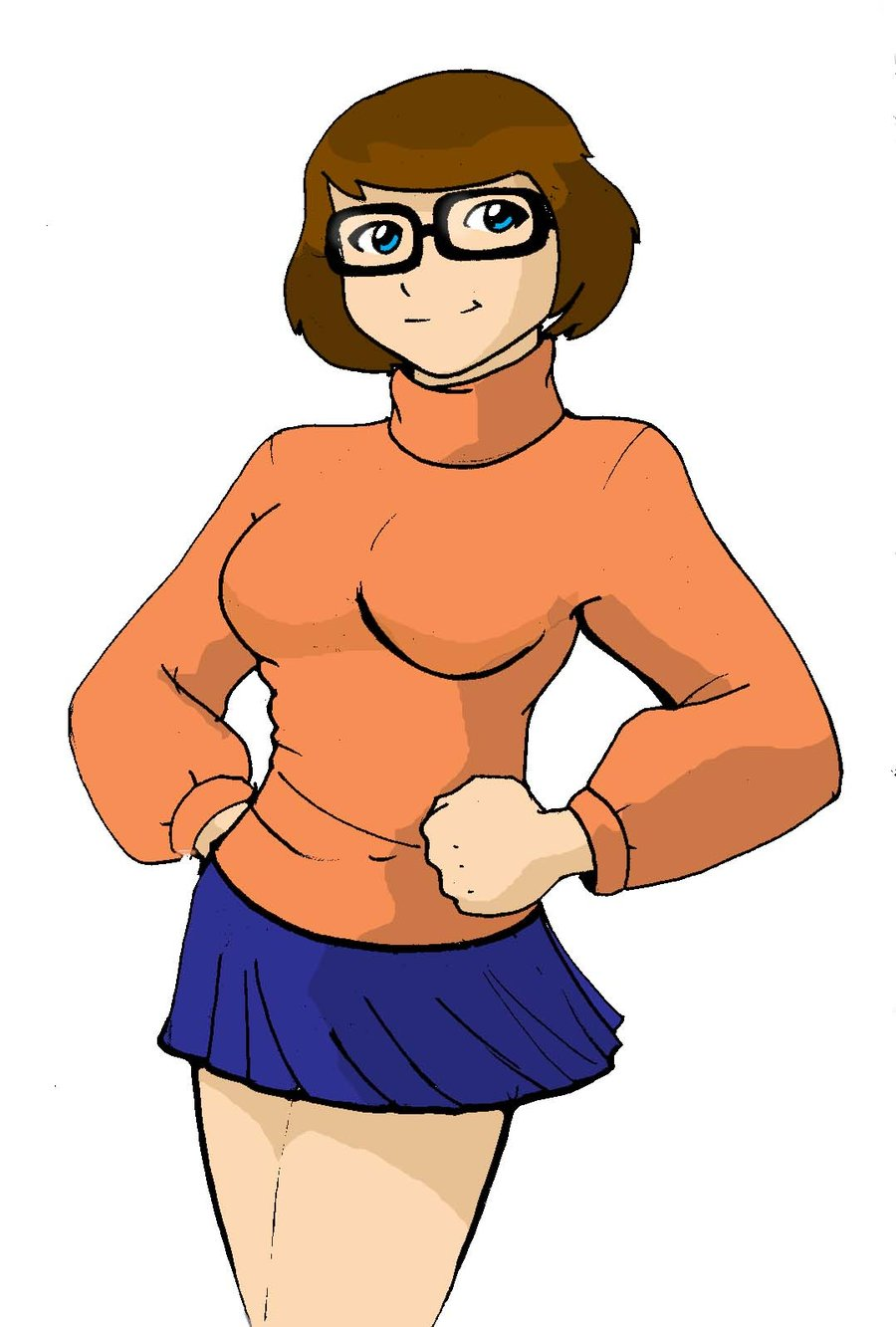 Velma Dinkley Scoodby Doo Cartoon Wallpaper-4141