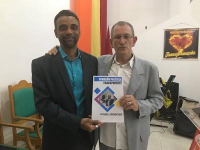 Vereador Ozeas Menezes é recepcionado na Igreja Quadrangular, em Alagoinhas