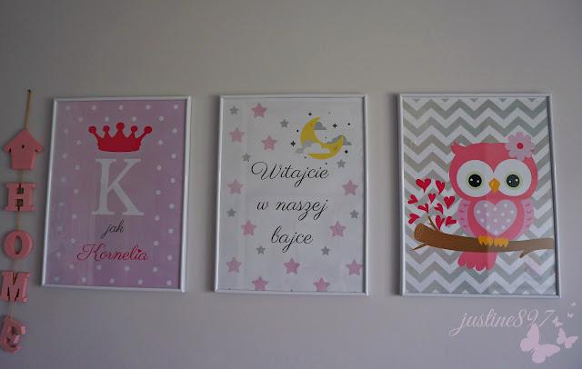 dekoracje na ścianę do pokoju dziecka
