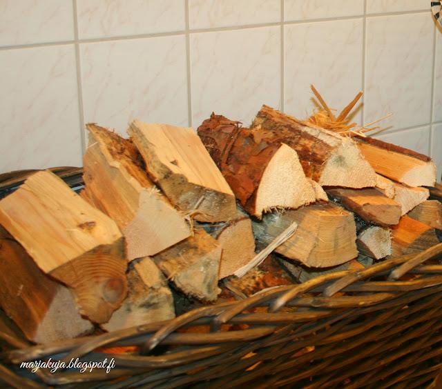 puukori polttopuilla