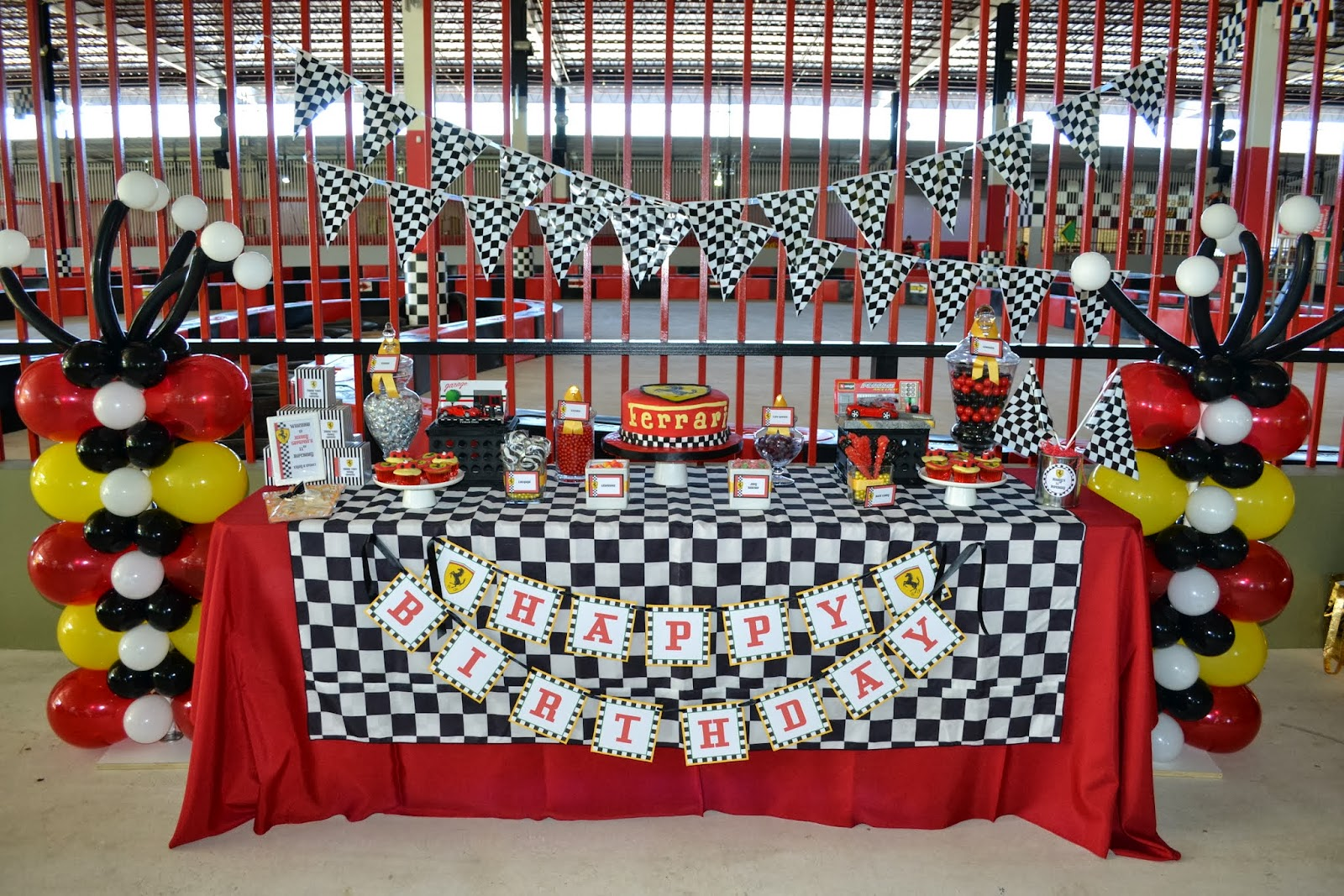 Race Car Birthday Party: Partylicious Events PR: {Ferrari Birthday}