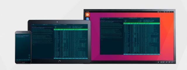Terminal convergente Ubuntu