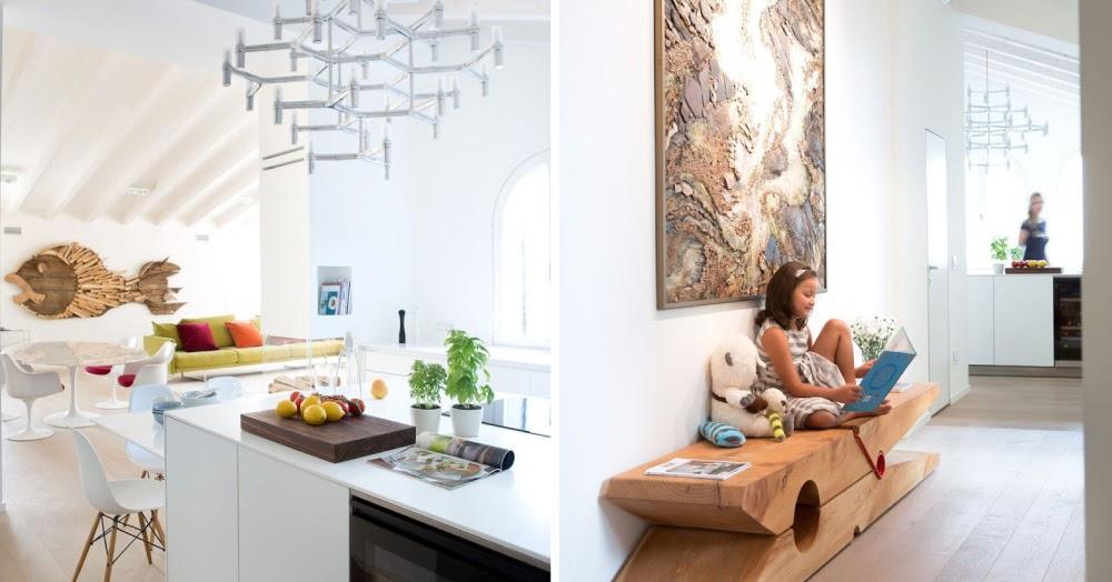 Vasca Da Bagno Con Vista Sulla Citta Interior Design : Un attico esclusivo con vista sull arena di verona