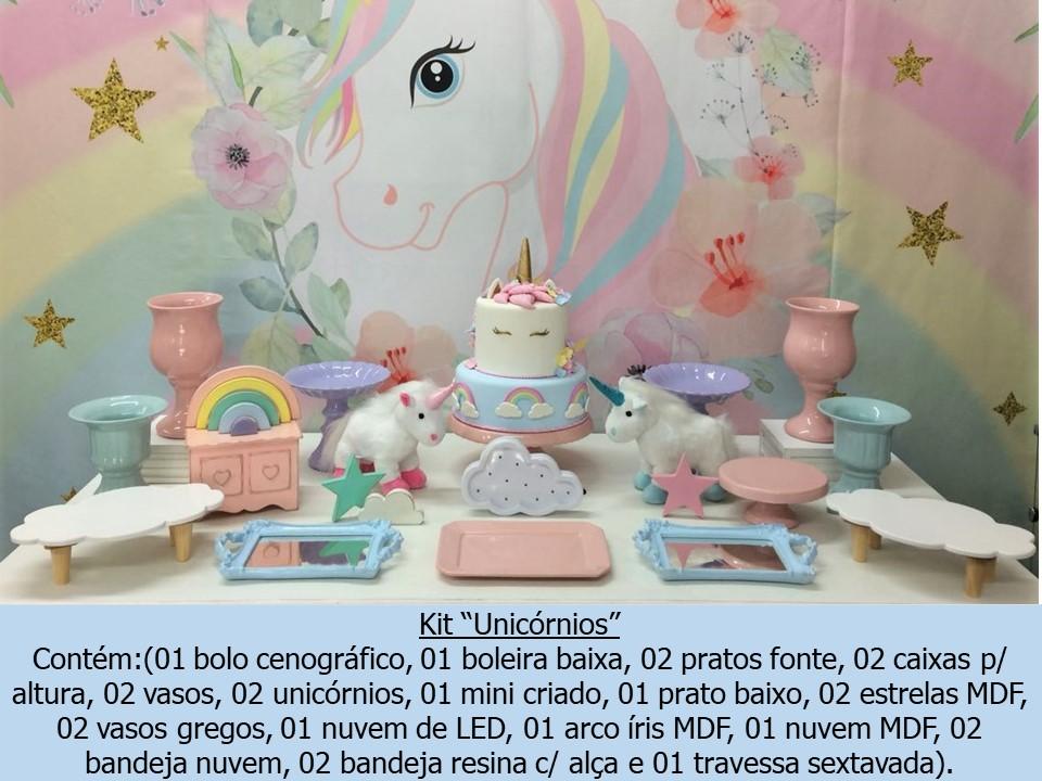 Fuxica Locações de Material para Festas Aluguel decoraç u00e3o Unicórnios Porto Alegre -> Aluguel Decoração Festa Infantil Unicornio
