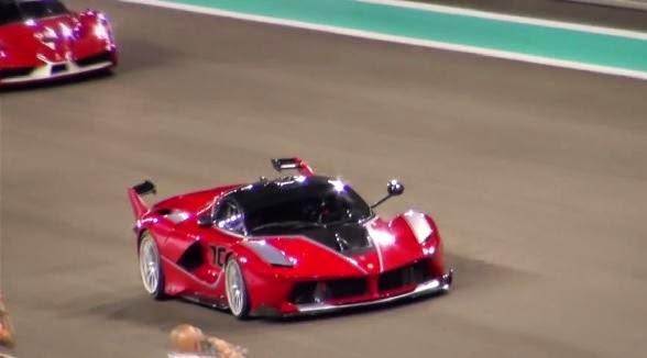 Ferrari LaFerrari FXX K en pista