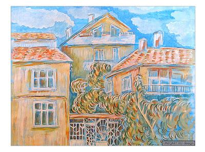 летние пейзажи картины, городской пейзаж художники