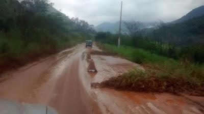 Estradas da serra de Macaé, RJ, são recuperadas após temporal