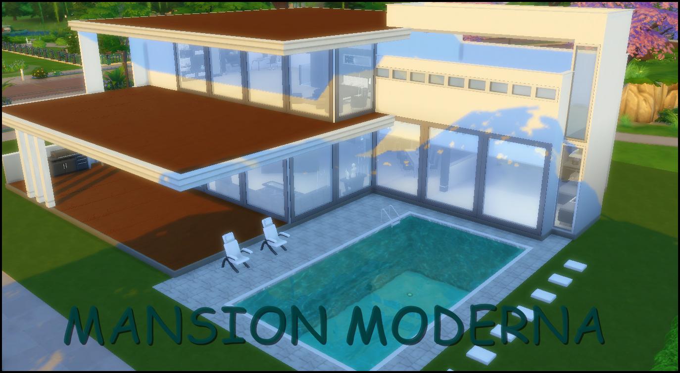 Allis sims descarga download mansion moderna sims 4 for Piscina sims 4