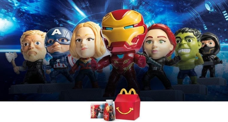 7595e7aba Disney at Heart: Avengers: Endgame Toys At McDonald's