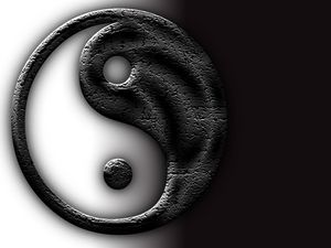 Szimbólumok: Jin-Jang (yin-yang)