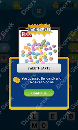 Answers, Cheats, Solutions for Guess the Candy Level 12 for android and iphone