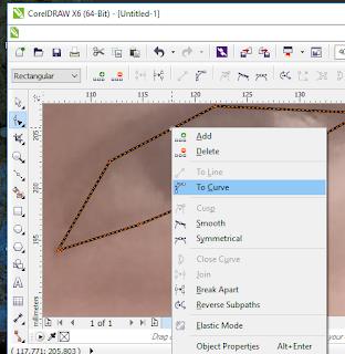 belajar membuat gambar vektor coreldraw