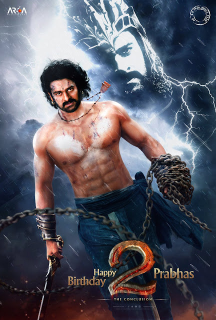 First Look Poster of Prabhas in Baahubali 2 The Conclusion