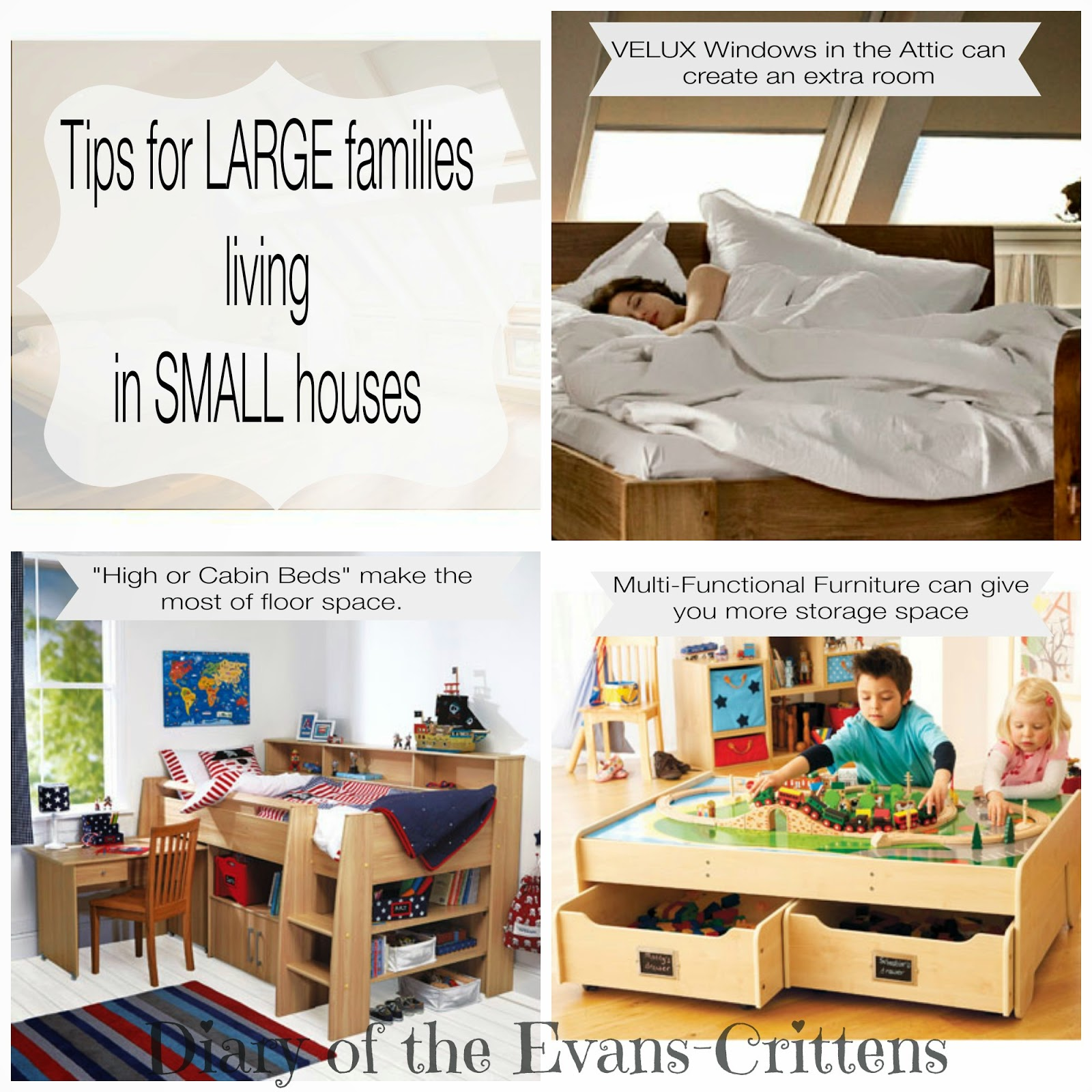 , How to Live in a Small House with a Large Family