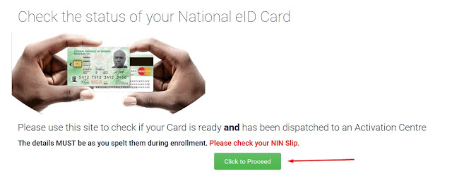 know-your-national-identity-card-status