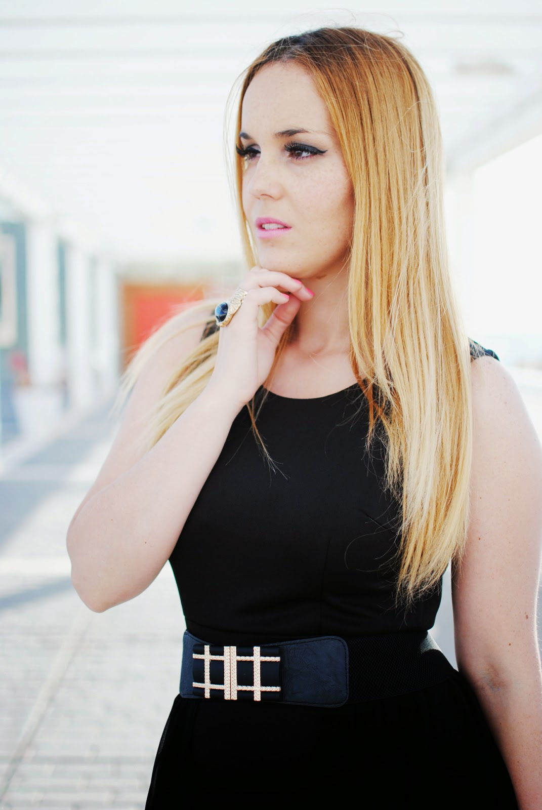 nery hdez, vestido q2, blonde, lbd, little black dress, vestido negro, vestido de fiesta