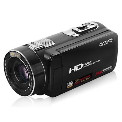 Videocámara compacta Ordro Z80, tecnología