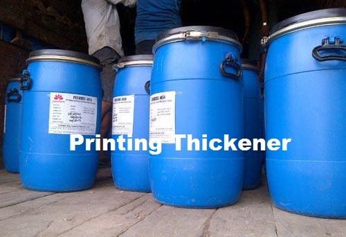 Printing thickener