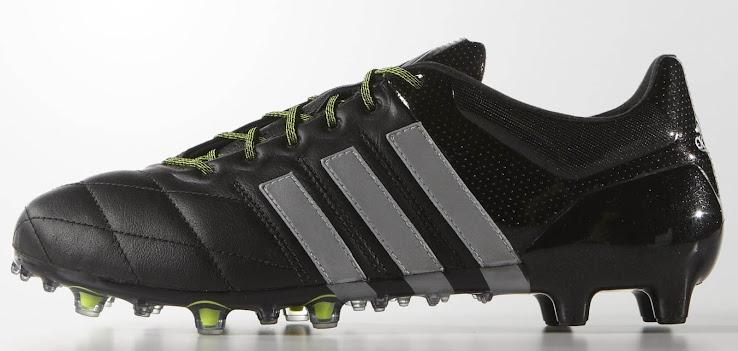 cheaper dc8e3 11f1a wholesale adidas ace 15.1 leather black 3b8b2 cbd08