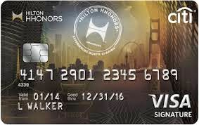 Citi Hilton Honors Reserve Card