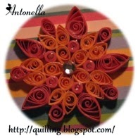 Free Quilled Quilling Courage Breast Cancer Mandala ATC Pattern