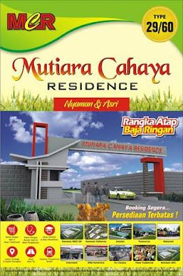 Mutiara Cahaya Residence - Rumah Subsidi Terbaru Cibarusah Cikarang Bekasi Harga 148 Jutaan