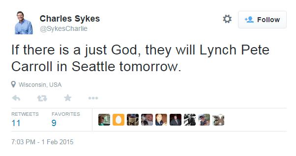 Cognitive Dissidence: Charlie Sykes' Tweet Of Shame