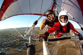 Sky Gliding-Ala delta en Castellón.
