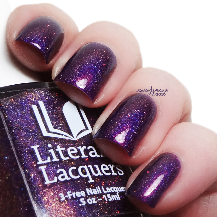 xoxoJen's swatch of Literary Lacquers Soul Within Me Burning